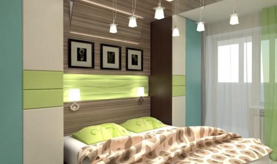 Приятная спальня для Аси