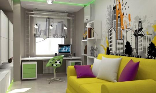Комната Степана — будущего футболиста