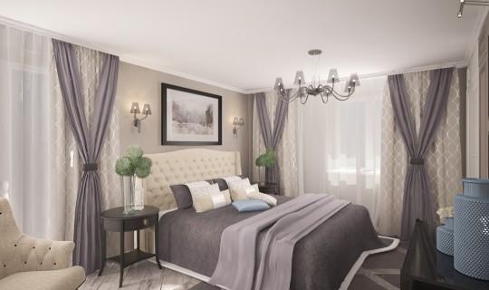 Спальня «Сдержанная классика»