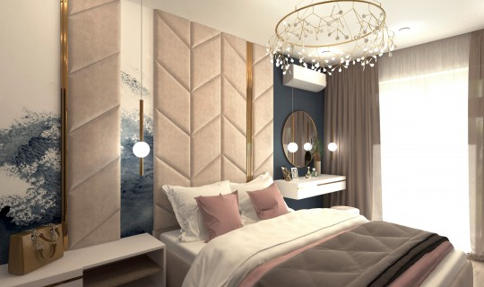 Спальня Нади