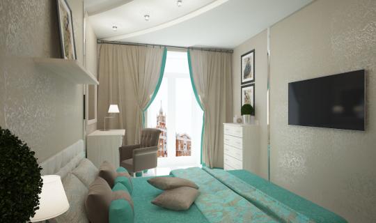 Спальня в доме «Ю-Сити»