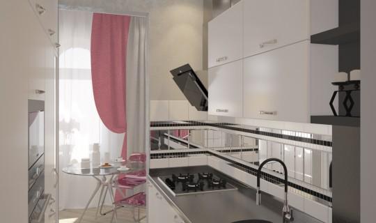 Кухня с необычной планировкой