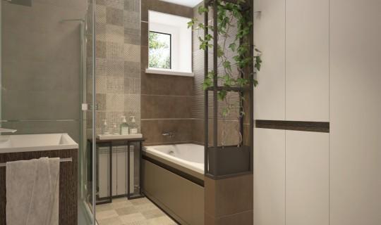 Большая ванная комната
