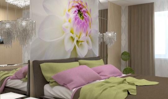 Спальня «Розовый пион»