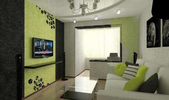 Леопардовая гостиная